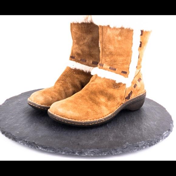d074797eb91 Ugg Elija women's suede boots size 7